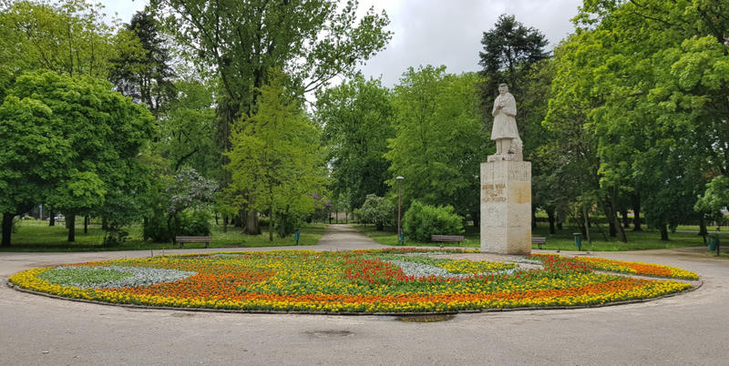 widok na park Jakuba Wagi